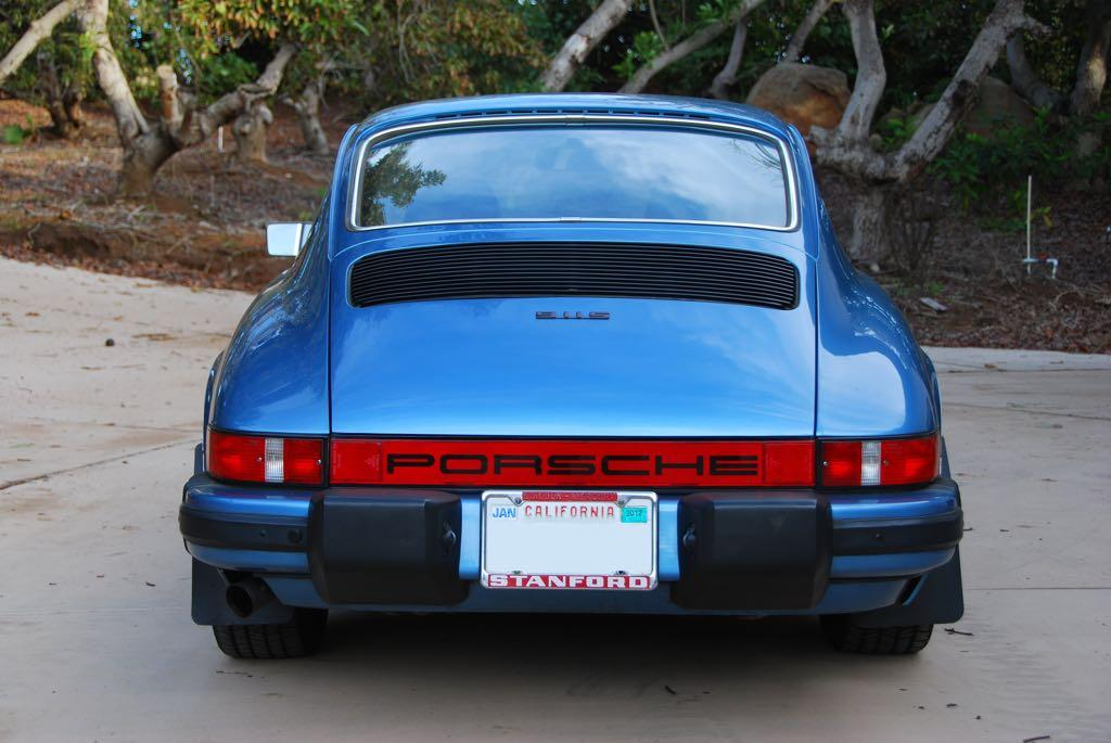 Porsche 911 Fourth Generation (1974 To 1977)