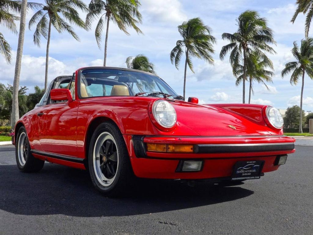 Porsche 911 carrera sixth generation 1984 to 1989 1986 911 carrera targa vanachro Image collections