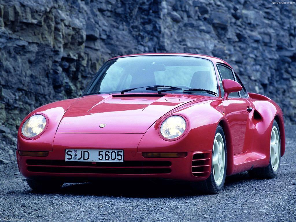 Porsche 959 (1986 to 1989)