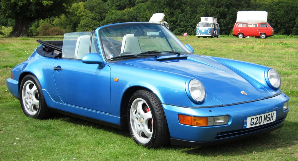 Porsche 964 1989 to 1994 964 carrera 4 cabriolet the 964 porsche 911 range publicscrutiny Choice Image