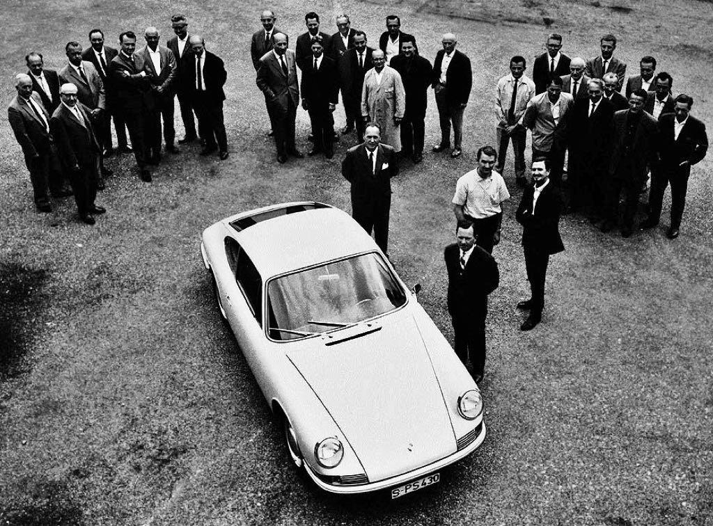 Porsche 901 Design Team