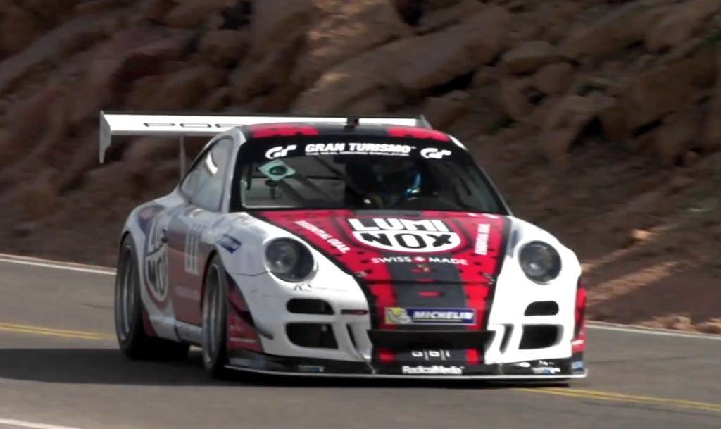 Jeff Zwart Takes On Pikes Peak In A Porsche 911 GT3 Cup Turbo