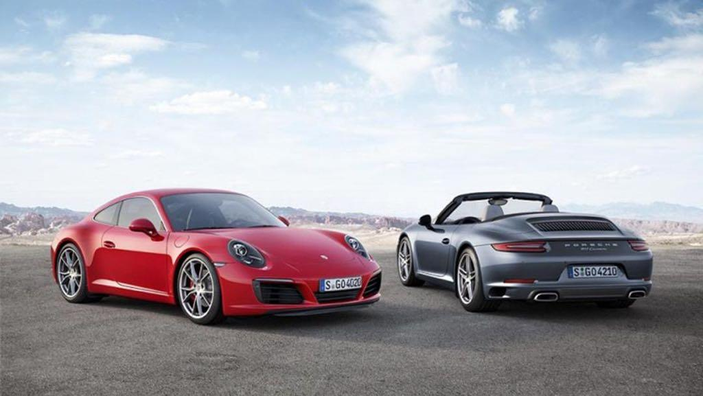 Porsche 911 Carrera (991.2) Announced With Turbo Engine (Video)