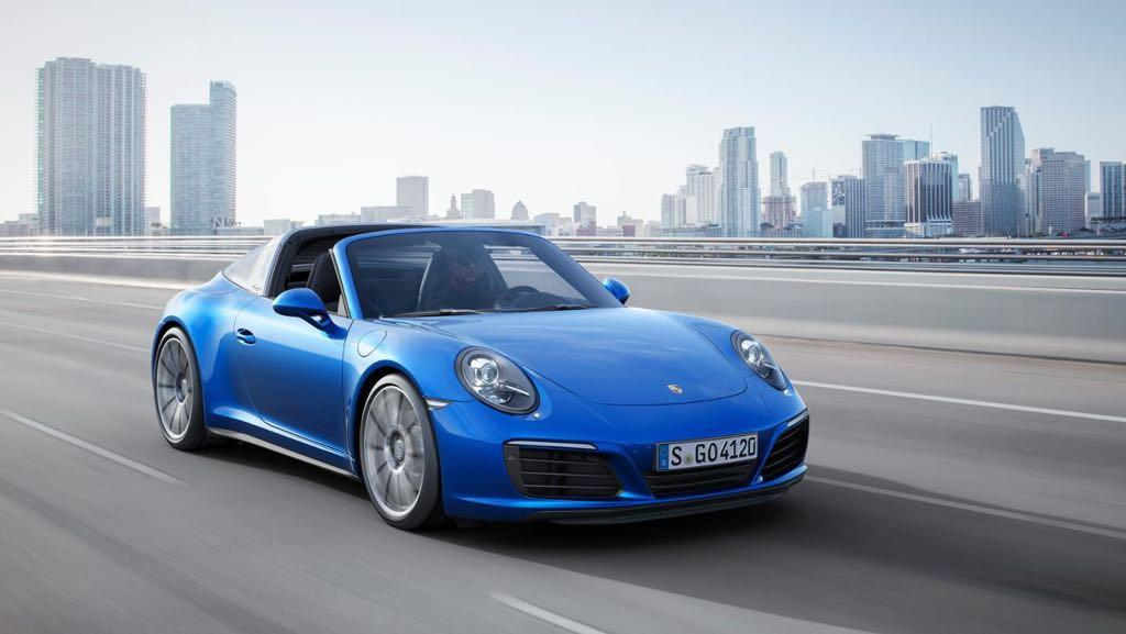 Porsche 911 Carrera 4, Carrera 4S, Targa 4 And Targa 4S Announced